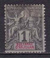 Anjouan N°1 - Anjouan (1892-1912)