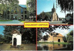 Chaumont-Gistoux (1325) : CPSM Multivues Couleur (4 Vues). - Chaumont-Gistoux