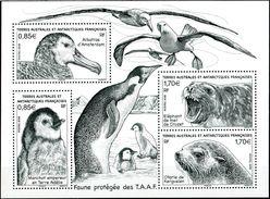 "TAAF  2018  MNH  -  "" FAUNE : OISEAUX  /  BIRDS  ""  -  1 BLOC / 1 MSHEET - Oiseaux"
