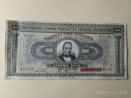 1000 Drakme 1926 - Grecia