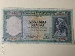 1000 Drakme 1939 - Grecia