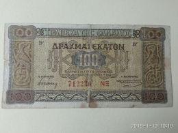 100 Drakme 1941 - Grecia