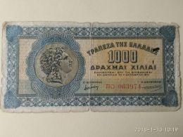 1000 Drakme 1941 - Grecia