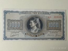 1000 Drakme 1942 - Grecia