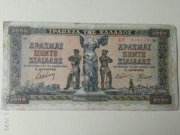 5000 Drakme 1942 - Grecia