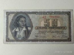 50 Drakme 1943 - Grecia