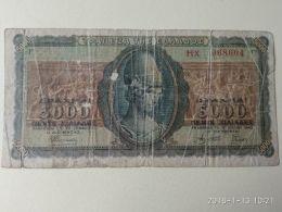 5000 Drakme 1943 - Grecia
