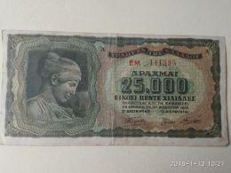 25000 Drakme 1943 - Grecia