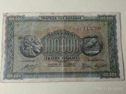 100000 Drakme 1944 - Grecia