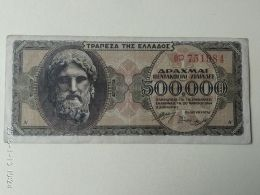 500.000 Drakme 1944 - Grecia