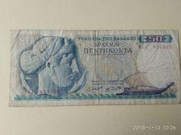 50 Drakme 1964 - Grecia
