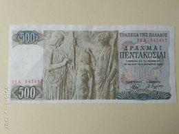 500 Drakme 1968 - Grecia