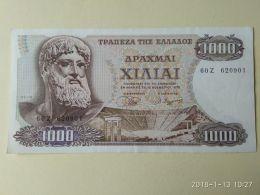 1000 Drakme 1970 - Grecia