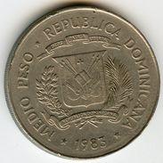 République Dominicaine Dominican Republic 1/2 Peso 1983 Droits De L'Homme KM 62.1 - Dominicaine