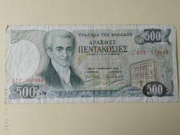 500 Drakme 1983 - Grecia