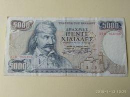 5000 Drakme 1984 - Grecia