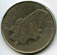 République Dominicaine Dominican Republic 1/2 Peso 1989 Culture KM 73.1 - Dominicana