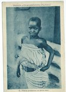 Fillette Promenant Sa Petite Sœur Mission D' Ouagadougou Haute Volta Burkina Faso 70 - Burkina Faso