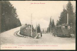 L'arrivée à L'Altenberg Du Tramway De Munster à La Schlucht - France