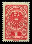 ÖSTERREICH 1919 Nr 273xa Postfrisch X7A885A - 1918-1945 1. Republik