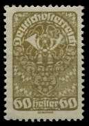 ÖSTERREICH 1919 Nr 272xa Postfrisch X7A886A - 1918-1945 1. Republik