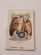Das Deutsche Lied Feierlied Heft 4 WWII - Bücher, Zeitschriften, Comics