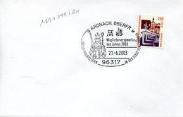 29677 Germany, Special Postmark 2003 Kronach, Maximilian Of Albrecht Durer - Arts