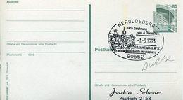29679 Germany, Special Postmark 1993 Heroldsberg , Albrecht Durer - Arts