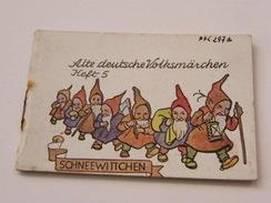 Alte Deutsche Volksmarchen Schneewittchen Heft 5 WWII - Alte Bücher