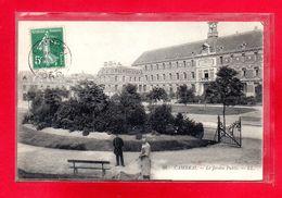 59-CPA CAMBRAI - LE JARDIN PUBLIC - France