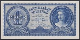 Hungary 1 Milliard Milpengö 03.06.1946 UNC - Hungary