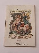 Das Deutsche Lied Volkslieder  Heft 1 WWII - Bücher, Zeitschriften, Comics