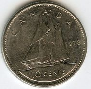 Canada 10 Cents 1978 KM 77.1 - Canada
