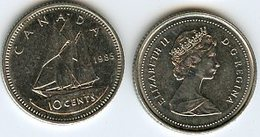 Canada 10 Cents 1985 KM 77.2 - Canada