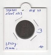 Pays Bas. 1 Cent 1823. KM # 47. B - [ 3] 1815-… : Kingdom Of The Netherlands