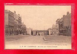 59-CPA CAMBRAI - AVENUE DE VALENCIENNES - France