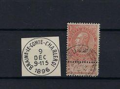 N°57 GESTEMPELD AMBULANT Braine-Le-Comte-Charleroi COBA € 60,00 SUPERBE - Poststempel