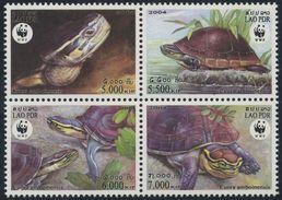 Laos 2004 - Reptiles, Tortues, Wwf - 4 Val Neufs // Mnh - W.W.F.