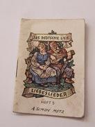 Das Deutsche Lied Libeslieder  Heft 5 WWII - Bücher, Zeitschriften, Comics