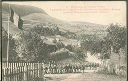Manoeuvres Des Hautes-Vosges - La Rentrée Du 15e Bataillon De Chasseurs Au Quartier... - Bussang