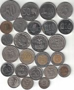 Ecuador Collection Of 25 Coins 1946-2000 All Listed & Different - Ecuador
