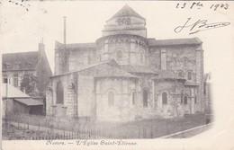 58----NEVERS--l'église Saint-étienne---voir 2 Scans - Nevers