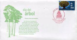 29707  Mexico, Fdc  1999  Trees Day  Dia Del Arbol - Protection De L'environnement & Climat