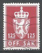 Norway 1975. Scott #O106 (U) Norway Coat Of Arms - Service