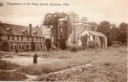 Buckfast Abbey FOUNDATIONS CHURCH 1906 Animation DEVON: Edit ERN.THILL,BRUSSELS  Nels  N°3 - Other