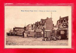 59-CPA BRAY-DUNES-PLAGE - GROUPE DE VILLAS VU DE LA MER - Bray-Dunes