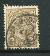 LUXEMBOURG- Y&T N°70- Oblitéré - 1895 Adolphe Right-hand Side