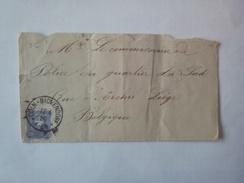 Lettre Du 12-04-1889 Envoyée De Coln-Bickendorf Vers Liège . - Cartas