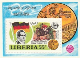 FOGLIETTO LIBERIA 1972 NUOVO (TX14 - Liberia