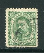 LUXEMBOURG- Y&T N°80- Oblitéré - 1906 Wilhelm IV.